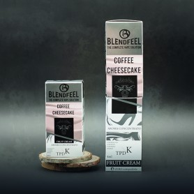 Blendfeel Coffee Cheesecake - K-TPD 4 mL K-TPD 10 mL aroma concentrado 4 mL