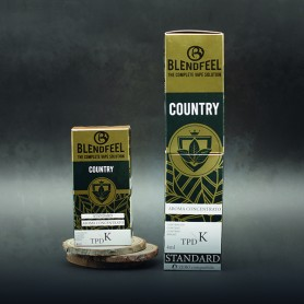 Blendfeel Country - K-TPD 4 mL K-TPD 10 mL aroma concentrado 4 mL