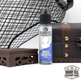 Blendfeel_Menta Liquirizia - Mix and Vape 50 mL